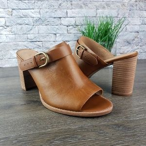 New Madewell The Riley Convertible Slingback Mule